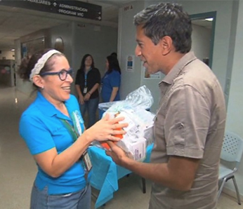 Doctors unite to deliver supplies to Puerto Rico